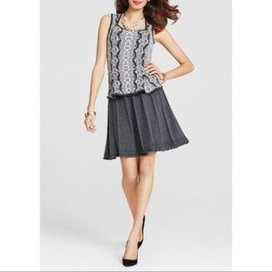 Cabi Femme Flair Knit Skirt Fit and Flare S 884
